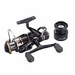 Metal Spinning Reel J3FR30 Gear Ratio 5.5:1 Fishing Reel  9+1 BB Carp Fishing Reel Bait Runner Wheel Spare Spool
