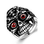 Men's/Womens' Fashion Cool mayan 925 silver plated High Polished Stainless Steel rings punk ring GMYR192