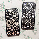 Retro Hollow Flower Pattern Hard And Soft Case for iPhone6 Plus/iPhone 6s Plus