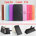 Flip Leather Magnetic Protective Case For Cubot X16(Assorted Colors)