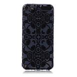 logrotate®anti-dérapage conception fleurs 3d modèle TPU étui pour iPod Touch 5/6