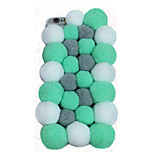 Hot Selling Colorful Pompon Mobile Phone Back Cover for iPhone 6 Plus/6S Plus(Assorted Colors)