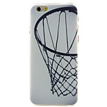 Basketball blue High Quality and Good Price Pattern  Hard Case for iPhone 6/6S