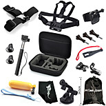 Storage Box+Headband+Chest Strap+More,17 in 1 Hot Outdoor Sports Camera Accessories Kit for GoPro Hero 1/2/3/3+/4