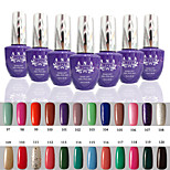 1 PCS ANA 192 Colors Gelpolish Nail Art Soak Off UV Nail Gel Polish 15ml 97-120