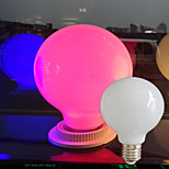 1 pcs E26/E27 5W  Pink/Red/Blue/Yellow/Green G80  Large Light Bulb Outdoor Decorative Colorful Lighting