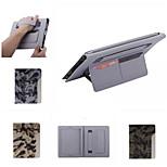 ultrafino estilo camuflaje moderna funda de piel fresca con el caso de titular de la tarjeta de la correa para el ipad 4/3/2 (color