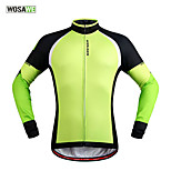 WOSAWE Fleece Thermal Winter Cycling Jackets Windproof Bike Bicycle Long Sleeve Jersey Shirts Ciclismo Cycling Clothing