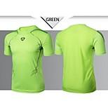 Hauts/Tops ( Blanc / Vert / Rouge / Noir / Bleu ) de Fitness / Courses / Football / Course -Séchage rapide / Résistant à la poussière /