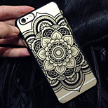 The New Matte Embossed Pattern Printing Datura Flowers  PC Material Phone Case  for iPhone 6 / 6S (Assorted Colors)