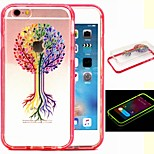 2-in-1 Colorful Making Pattern TPU Back Cover with PC Bumper Shockproof Soft Case for iPhone 6/6S