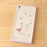 Animal Tree Sugar Candy Color PC Hard Cover Case for Huawei P8