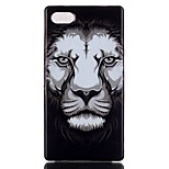 Lion Pattern TPU Phone Case for Xperia Z5 Compact/Z5mini