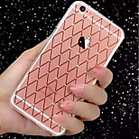 New Lingge Point Diamond TPU Material  Phone Case Phone Case for iPhone 6 / 6S