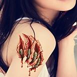 Alondra Nail Stars  Waterproof Flower Arm Temporary Tattoos Stickers Non Toxic Glitter(Random pattern)