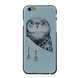 Owl  Pattern  Hard Case for iPhone 6/6S