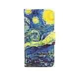 Starry Night PU Leather Full Body Case with Stand for iPhone 5/5S