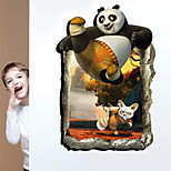 3D Wall Stickers Wall Decals, Kungfu Panda PVC Wall Stickers