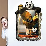 3D Wall Stickers Wall Decals, Kungfu Panda PVC Wall Stickers