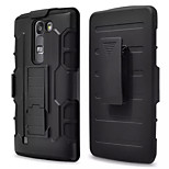 3 in 1 Impact Black Armor Hybrid Case With Belt Swivel Clip Stand for LG G4 Mini/G4C/LS751/C90/Volt2