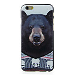Bear Pattern  Hard Case for iPhone 6/6S