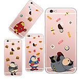 tpu posteriore caso maycari®greedy eroe super morbida trasparente per iPhone5 / iphone5s (colori assortiti)