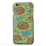 Sunflower  Pattern  Hard Case for iPhone 6/6S