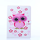 Owl Pattern PU Leather Full Body Case with Stand for iPad Pro