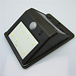 solar de alta calidad 8 LED impermeable lámpara patio humana lámpara de la inducción del cuerpo / lámpara de pared / jardín luz