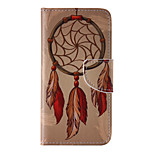 The New Campanula PU Leather Material Flip Card Cell Phone Case for iPhone 6 /6S
