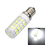 Marsing® E14 7W 500lm 6500K 51-SMD 2835 LED Cool White Light Bulb Lamp (AC 220-240V)