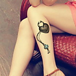 Heart Cross Bracelets  Waterproof Flower Arm Temporary Tattoos Stickers Non Toxic Glitter(Random Pattern)