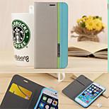 Cartera de lujo con tarjeta de ranura estilo sostenedor de la caja de cuero de colores mezclados para el iphone 6 / 6s (colores surtidos)