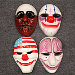 Payday2 Cospaly Mask 4PCS Set