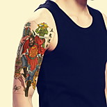 Traditional Color Goki Waterproof Flower Arm Temporary Tattoos Stickers Non Toxic Glitter