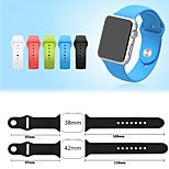 New Environmentally Friendly Silicone Material Strap  for  iWatch 42 mm