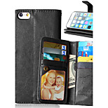 multicolor PU leather 9 card phone holster For iPhone 6 / 6S (Assorted Colors)