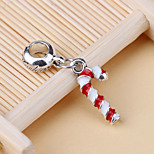 Fashion Christmas Candy Cane DIY Bracelet Beads