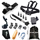 Hot Outdoor Sports Camera Accessories Kit,17-In-1 For GoPro Hero 1/ 2/ 3/ 3+/ 4/ 4 Session