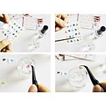 - Finger - 3D Nails Nagelaufkleber - Kunststoff - 1 Stück - 8*6*0.2 cm
