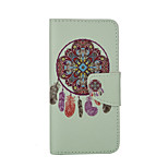 Wind Chime Pattern Card Stand Leather Case for iPhone 6/6S