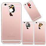MAYCARI®Animals' World Soft Transparent TPU Back Case for iPhone5/iPhone 5S(Assorted Colors)