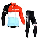 KEIYUEM®Others Unisex Long Sleeve Spring / Autumn Cycling Clothing Suits TightsWaterproof / Breathable / Quick Dry /