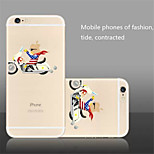 The New Creative  Racing Green Pattern  TPU Material Phone Case for iPhone 6/6S