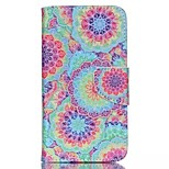Decorative Pattern Painted PU Phone Case for Wiko Lenny 2
