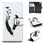 Embossed PU Leather Holster Folio Case Waterproof Case for  Sony Xperia Z5 Compact