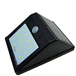 High Quality Solar 12 LED Light Waterproof Human Body Induction Lamp / Wall Lamp / Garden Courtyard Lamp