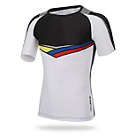 Others Men's Cycling Tops Short Sleeve Bike Autumn Breathable / Ultraviolet Resistant / Sweat-wicking / Compression