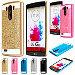 copertura linea shinning caso scintillio telefono cellulare indietro s per lg G3 / G4 (colori assortiti)