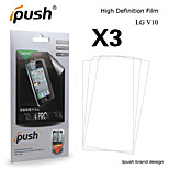 Ipush High Transparency Matte LCD Screen Protector for LG V10(3 Pieces)